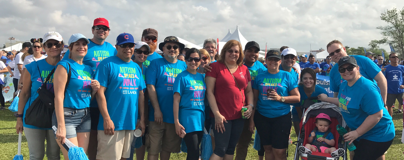 Since April 2010 LAAD has been part of the Annual Walk for Autism